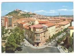 G1268 Campobasso - Piazza Savoia - Scorcio Panoramico / Viaggiata 1965 - Campobasso