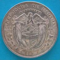 Panama  1/4 De Balboa  1961  Argento  Silver - Panama