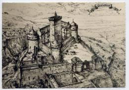 SAINT MICHEL DE BOULOGNE--1969-Le Chateau (restitution) Cpsm -beau Cachet  St ETIENNE DE FONTBELLON Sur Marianne Cheffer - Sonstige Gemeinden