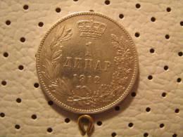 SERBIA 1 Dinar 1912 Medalic Die - Serbia