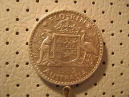 AUSTRALIA 1 Florin 1962 - Monnaie Pré-décimale (1910-1965)