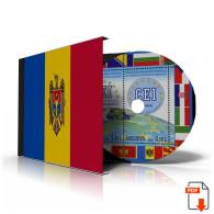 MOLDOVA STAMP ALBUM PAGES CD 1991-2011 (100 Color Illustrated Pages) - Logiciels