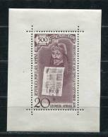 Romania 1959 Sheet Mi Block 44 Sc C71 MH Prince Vlad Tepes Cv 200 Euro - 1948-.... Republics