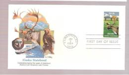 FDC Alaska Statehood - First Day Covers (FDCs)