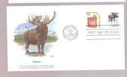FDC Moose - Briefmarken