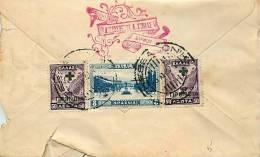 1917  Lettre Pour Les USA  8 Drachmes - Grecia