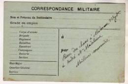 CORRESPONDANCE MILITAIRE 1915- ECRITE PAR UN SOLDAT ENGAGE AU 4IEME REGIMENT D ARTILLERIE LOURDE DE VERSAILLES - Documents