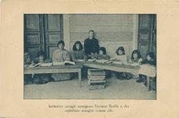 Liban Institutrice Aveugle Orphelins Armeniens Comité Suisse Basel Armenian Refugees - Líbano