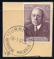 BE    997     Obl     ---   Fragment Obl. De Complaisance  --  Kempische Philatelie  --  Turnhout    1957 - Postmark Collection