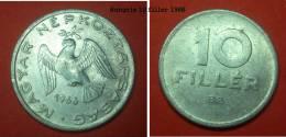 HONGRIE 10 Filler 1966 - Hongrie