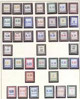 Frankreich,  39 Briefmarken Ohne Wert, Sans Valeur, Dabei Taxe - Bzw. Timbre Taxe Briefmarken, Gebühren Bzw. Steuermarke - Fictifs