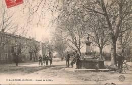 SAINT - PAUL  TROIS - CHÂTEAU  ( 26 ) -  Avenue De La Gare - France