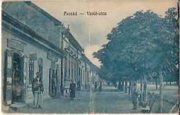Facsad-vasut Utca-roumanie-cpa - Roumanie