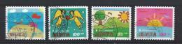 Suisse, Schweiz, Helvetia 2007 - Serie Pro Juventute   Mi. 2031-34  Oblitéré, Used, Gest. - Used Stamps