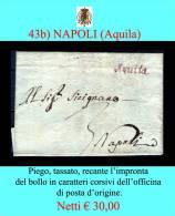 Aquila-00043b - Piego Senza Testo. - Italia