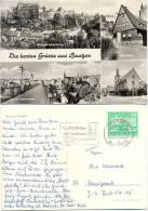 AK Bautzen, Stadtansicht, Friedensbrücke, Kirche, Ortenburg - Bautzen