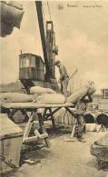 Belgique -ref 670-anvers - Antwerpen -dockers -travail Au Port - Edit Nels  - Carte Bon Etat - - Antwerpen