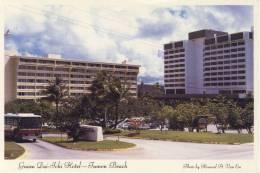 Guam DAI-ICHI Hotel - On World Famous Tumon Beach On Tumon Bay, Advertise Card - Guam