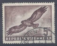 AUTRICHE - 1950/53  -    POSTE AERIENNE    -  N° 58  -   OBLITERE -  B  - - Airmail