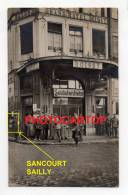 CAMBRAI-Grand Hotel BOISSY-Soldatenheim-Carte Photo-Guerre 14-18-Commerce-Animation-France-59- - Cambrai