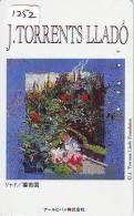 Télécarte JAPON PEINTURE * ART * PEINTURE De ESPANA (1252) TORRENTS LLADO  * PHONECARD JAPAN - Pintura