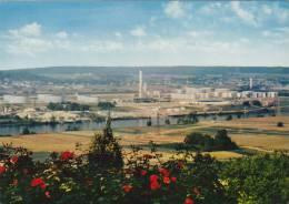 """PORCHEVILLE - La Raffinerie En Bords De Seine  """"Raffinerie E.L.F. Du Vexin"""" - Porcheville"""