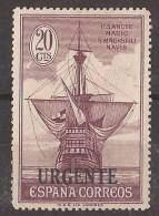 ES546-LA115TTOM.España.Spain.Espagne.DESCUBRIMIENTO  DE AMERICA.Barcos,Colon.1930 . (Ed 546*) Con Charnela.MAGNIFICO - Transporte
