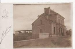 SCEAUX (92) CARTE PHOTO DE LA GARE 1903 - Sceaux