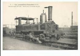 CPA _____ 66 - LES LOCOMOTIVES FRANCAISES ----- Machine-tender N° 1066 --service Des Manoeuvres De Gare - Autres Communes