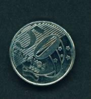 BRASIL  -  2002  50 Centavos  Circulated As Scan - Brazil
