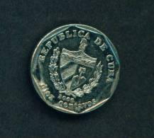 CUBA  -  2000  10 Centavos  Circulated As Scan - Cuba