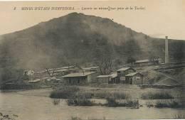 Ervedosa Mines Etain No 2 Laverie Au Niveau Prise De La Tuella Tin Mine - Guarda