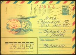 RUSSIA USSR Stamped Stationery 1981.04.07 USED Aviation Letter Writing Week - Non Classificati