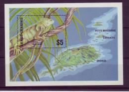 Grenadines YV BF 116 N 1986 Iguane - Reptiles & Batraciens