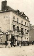 BOURGTHEROULDE (27) Carte Photo Hotel Du Cheval Noir Animation - Bourgtheroulde