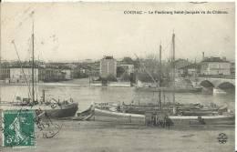 COGNAC.  Le Faubourg Saint-Jacques Vu Du Château - Cognac