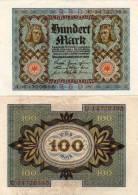 1OO Marks - Multicolore   (50183) - Administration De La Dette