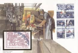 1991   CARNET SUR MAXI LETTRE    N° C1656   CATALOGUE  YVERT&TELLIER - Carnets