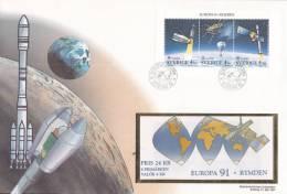 1991   CARNET SUR MAXI LETTRE    N° C1653   CATALOGUE  YVERT&TELLIER - Markenheftchen