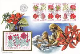 1990   CARNET SUR MAXI LETTRE    N° C1625   CATALOGUE  YVERT&TELLIER - Carnets