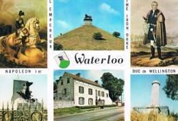 WATERLOO - Le Caillou - Monuments Français Et Britaniques - L´Empereur Napoleon 1er - Duc De Wellington - TBE, Neuve - Waterloo