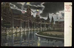 Cpa  Des Etats Unis  Boston  Johnstown Flood  Paragon Park By Moonlight   HB15 - Boston