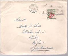 Uruguay, Airmail Cover To Germany, Stamps, Flora   (8130) - Uruguay