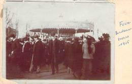 Bordeaux - Foire De Bordeaux, Mars 1905 (photo Collée Sur Carte) - Bordeaux