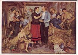Das Füllhorn, - Sepp Hilz - München Haus Der Deutschen Kunst HDK 186 - Malerei & Gemälde