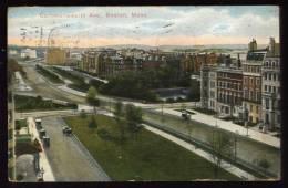 Cpa  Des Etats Unis  Boston  Commonwealth Ave.   HB15 - Boston