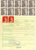 Bulletin D´expédition De Colix Postaux De Biar (Alicante) Pour Belgique 1984. Voir 2 Scan - Sonstige