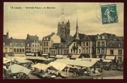 Cpa  Du  61  Laigle  Grande Place -- Le Marché  BHU23 - L'Aigle