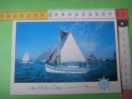 81 )bateaux : Voiliers :au Fil Des Cotes :e-toile De Mer : La Rochelle - Sailing Vessels
