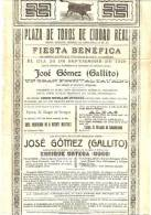 Cartel Poster Affiche Corridas De Toros (32x45 Cm. Aprox.) - Toros